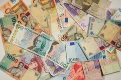 Bankbiljet in de wereld Royalty-vrije Stock Foto's