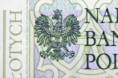 Bankbiljet 100 PLN Stock Afbeelding