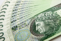 Bankbiljet 100 PLN Stock Foto