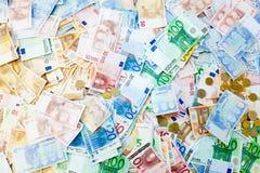 Bankbiljetstapel Stock Foto's