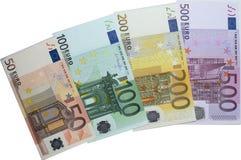 bankbiljetten Stock Foto