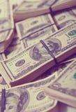 $ 100 bankbiljetten Stock Afbeeldingen