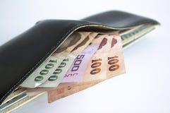 Bankbiljetten van Thailand Royalty-vrije Stock Afbeeldingen