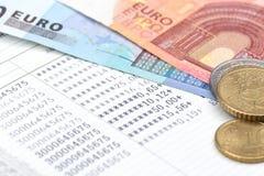 Bankbok för besparingbank Arkivfoto