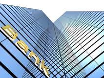 Bankbyggnad Fotografering för Bildbyråer