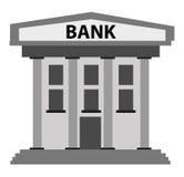 Bankbyggnad Royaltyfri Fotografi