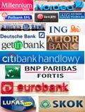 Banken van Polen stock foto