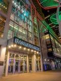Banker Hall nachts stockfotografie