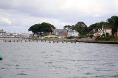 Banker Poole, Dorset, UK Royaltyfria Bilder