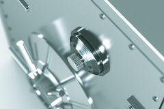 Bankers Combination Safe Stock Images