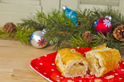 Banket pastry with ornaments Stock Photo