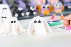 Banketbakker met cijfers van Halloween Royalty-vrije Stock Fotografie