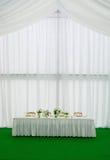 bankettbröllop Royaltyfri Foto