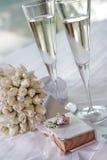 bankettbröllop Royaltyfri Fotografi