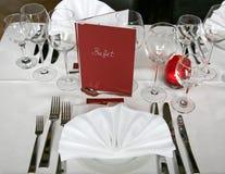 bankettbröllop Fotografering för Bildbyråer