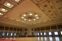 Banketten Hall i den stora korridoren av folket i Peking, Kina Royaltyfri Foto