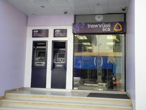 Bankfilial Arkivfoton