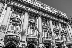 Bankgebäude in Lissabon - banko Totta Acores - LISSABON/PORTUGAL - 15. Juni 2017 Lizenzfreie Stockfotos