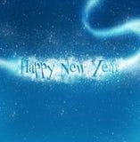 Bankground di nuovo anno felice Fotografie Stock