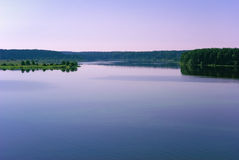 Banki Volga rzeka fotografia stock