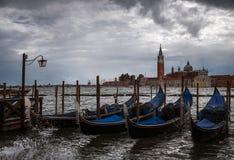 Banki Wenecja Włochy zdjęcie stock