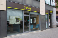 Bankia Foto de Stock Royalty Free