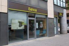 Bankia Photo libre de droits