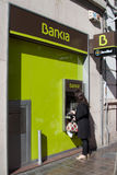 Bankia royalty free stock images