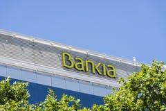 Bankia biuro, Barcelona Obrazy Royalty Free