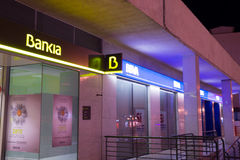 Bankia branch Stock Photography