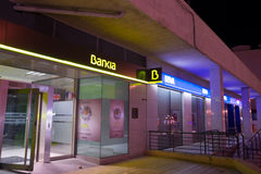 Bankia branch Royalty Free Stock Photography
