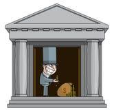 Bankier vector illustratie