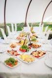 bankieta catering Zdjęcie Royalty Free