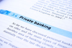 Banking Royalty Free Stock Photography