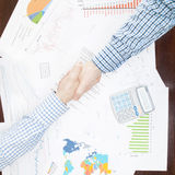 Banking and all things related - 1 to 1 ratio Royalty Free Stock Photos