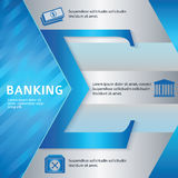 Banking-brochure-template-business-style-presentation vector illustration