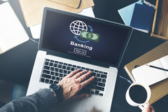 Banking Business Account Finance Economy Concept Royalty Free Stock Photography