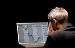 Banking crises Royalty Free Stock Photos