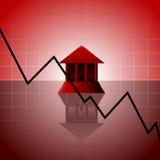 Banking crisis Royalty Free Stock Image