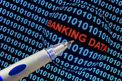 Banking Data Symbolism Royalty Free Stock Photo