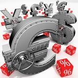 Banking deposit Stock Images