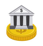 Banking design. Banking graphic design , vector illustration Stock Photography