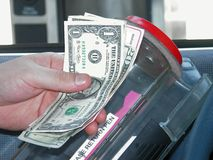 Banking: Drive Up Bank Machine Stock Images