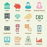 Banking elements Royalty Free Stock Image