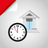 Banking and finance design. Illustration eps10 graphic Stock Photography
