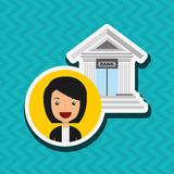 Banking and finance design. Illustration eps10 graphic Royalty Free Stock Photo