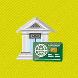 Banking and finance design. Illustration eps10 graphic Royalty Free Stock Image