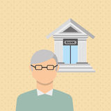 Banking and finance design. Illustration eps10 graphic Stock Photos