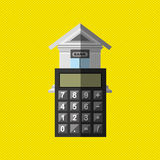Banking and finance design. Illustration eps10 graphic Stock Image