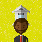 Banking and finance design. Illustration eps10 graphic Royalty Free Stock Images
